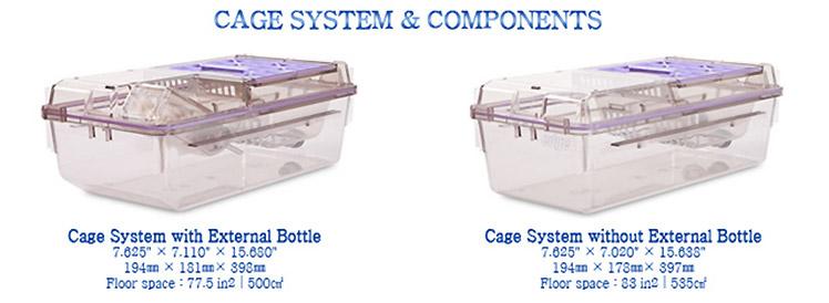 Nexgen - Cage System with External Bottel