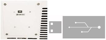 온도 점검 기록 USB 장착